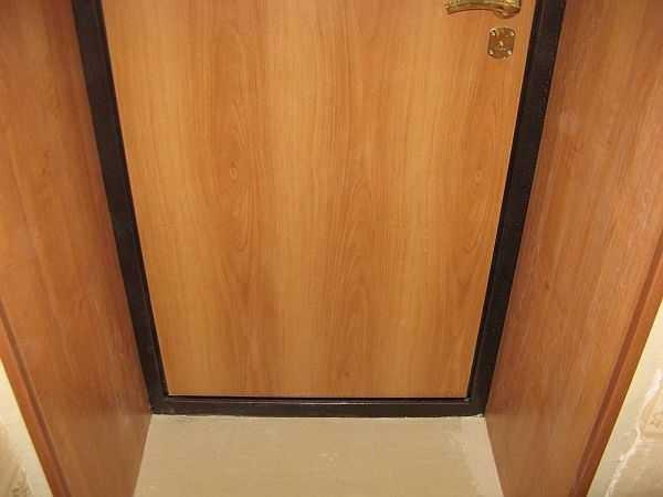 Откосы входной двери из мдф