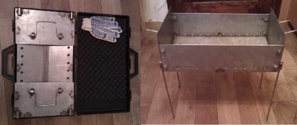 Мангал в чемоданчике - хорошая идея
