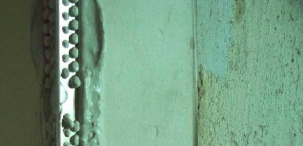 Штукатурка дверных откосов