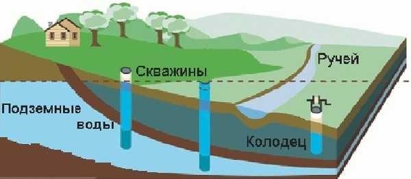 Полив участка своими руками можно сделать от любого источника воды