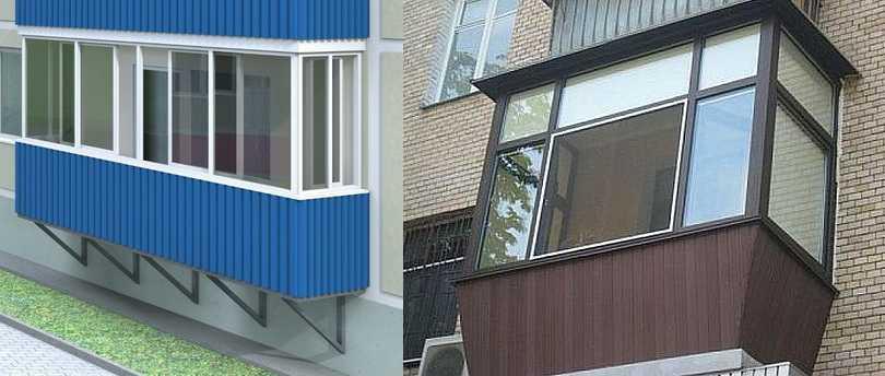 Дизайн балкон фото снаружи
