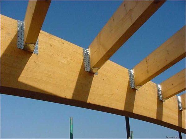 перфорированные крепежные изделия для деревянных конструкций