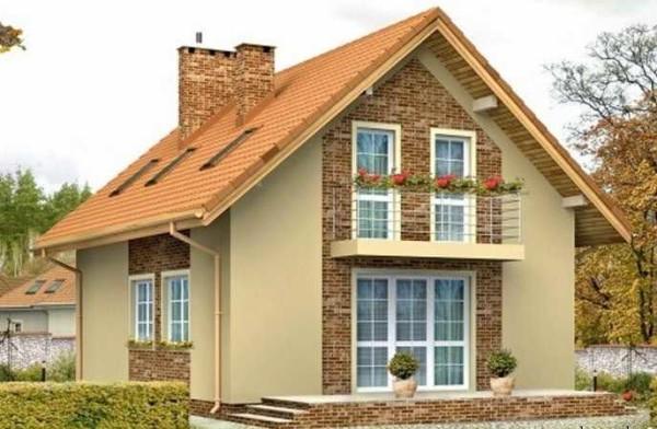 Окна могут располагаться в плоскости крыши