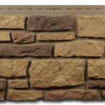 Стена будет выглядеть как из камня