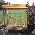 Легкая конструкция для небольшого количества древесины