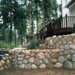 Декорирование бутовым камнем