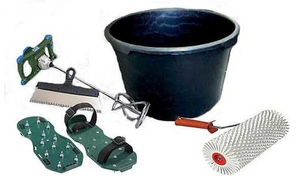 Инструмент для изготовления наливных полов