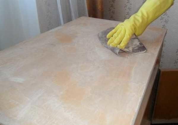 Как отреставрировать старую тумбочку своими руками фото 443