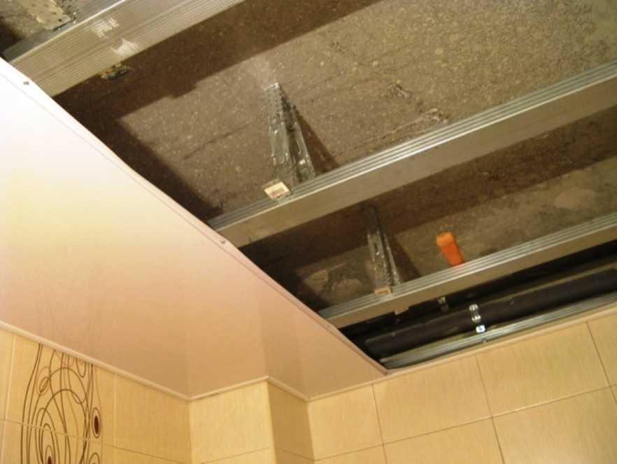 Как сделать пластиковые панели потолок фото 516