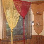 Два узла на разном уровне - дизайнерские шторы готовы