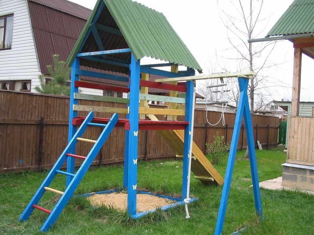 Как сделать детские площадки своими руками фото