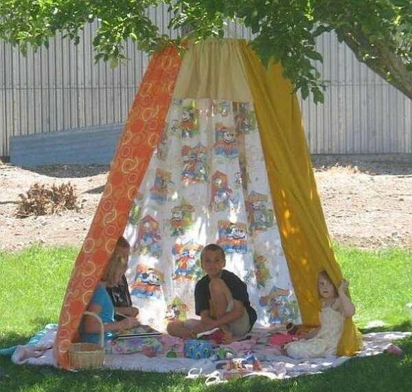 Детская площадка своими руками: фото-идеи
