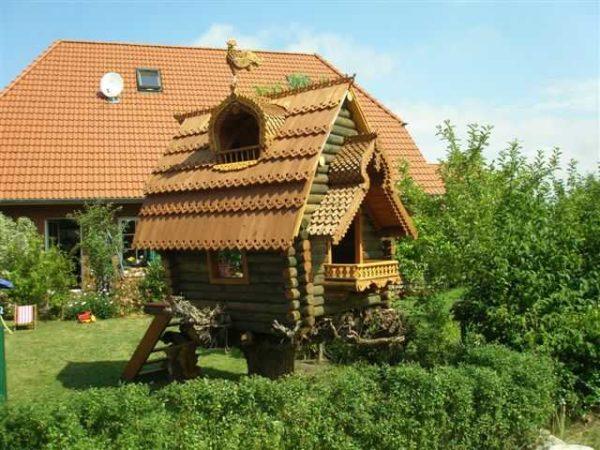 Как сделать домик для детей на улице фото 94