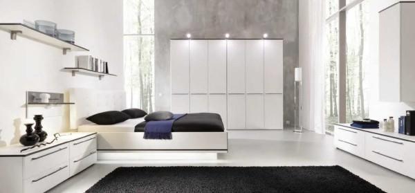 Только необходимая мебель, несколько предметов дизайна и лаконичная цветовая гамма