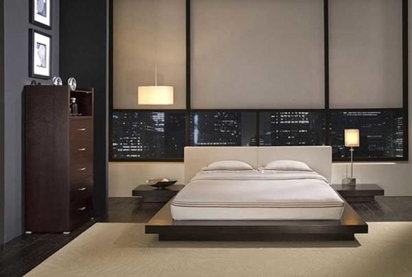 Стиль хай-тек в оформлении спальни
