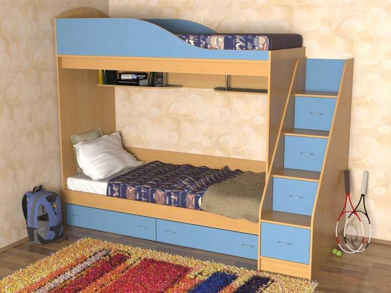 Детская кровать с ящиками своими руками чертежи фото 550