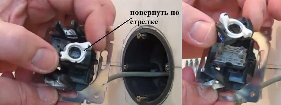 Подключение интернет розетки легранд rj 45