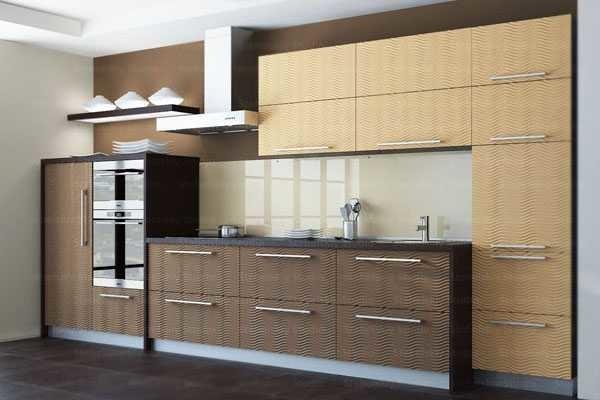 Двухцветные кухонные гарнитуры - последние веяния моды