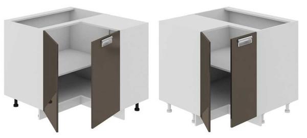Один из вариантов углового шкафчика в кухню