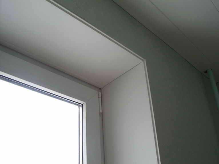 Сколько стоит сделать откосы на окнах