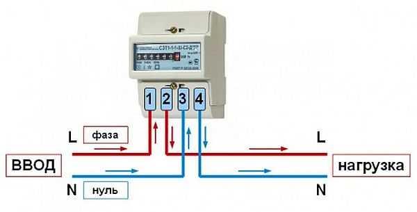 Схема трехфазный счетчик электроэнергии фото 471
