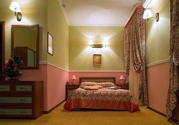 Дизайн квартиры в двух цветах