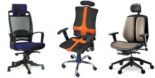 Кресла для кабинета в доме при длительном рабочем дне за столом