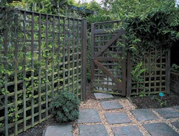 Внутренние ограды для участка