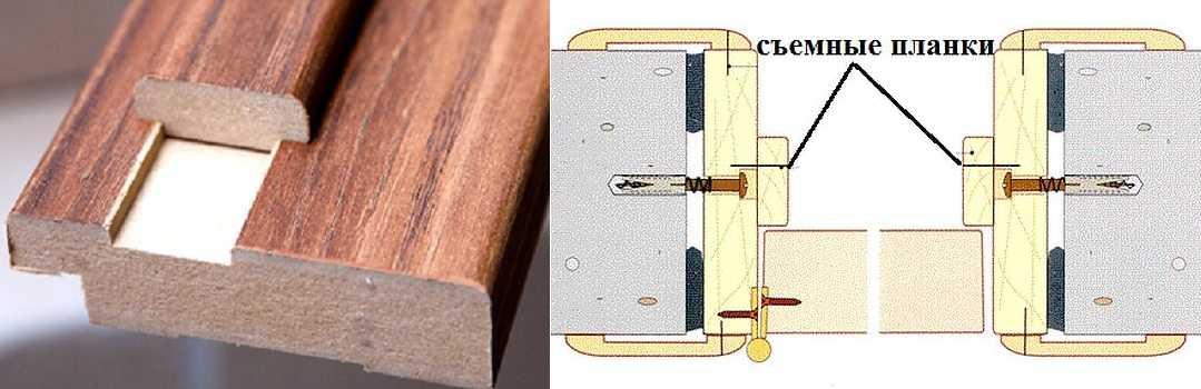 Как установить коробку из мдф межкомнатной двери своими руками