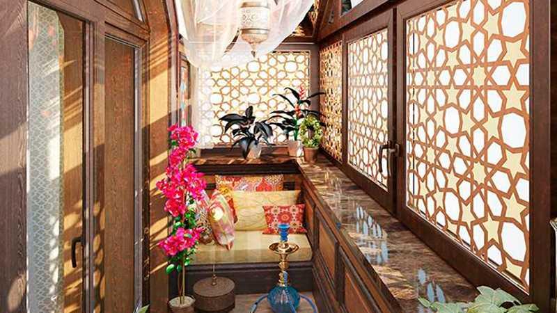 Мебель для балкона складная, встроенная, готовая 17