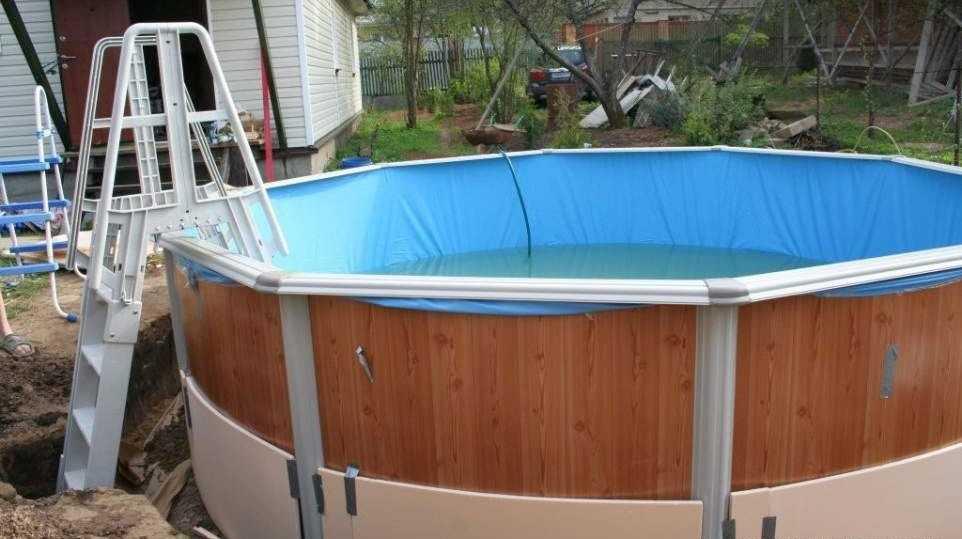 Как сделать дешевый бассейн своими руками фото 938
