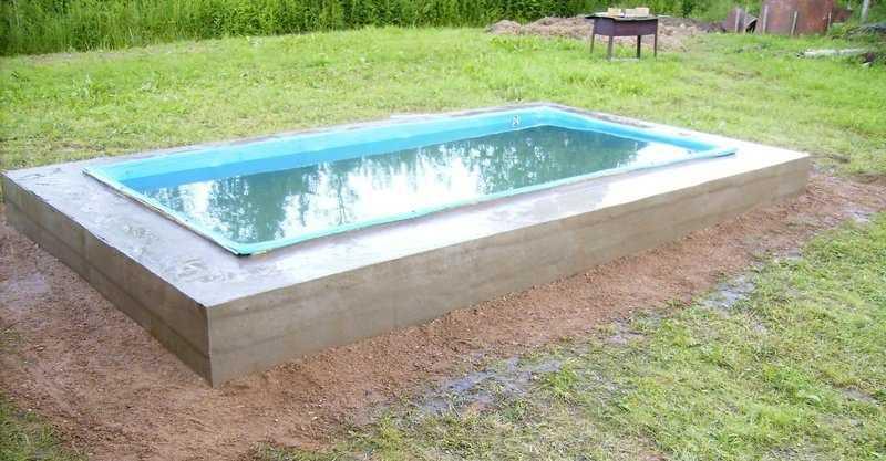 282Как самому сделать бассейн на даче своими руками видео в домашних условиях
