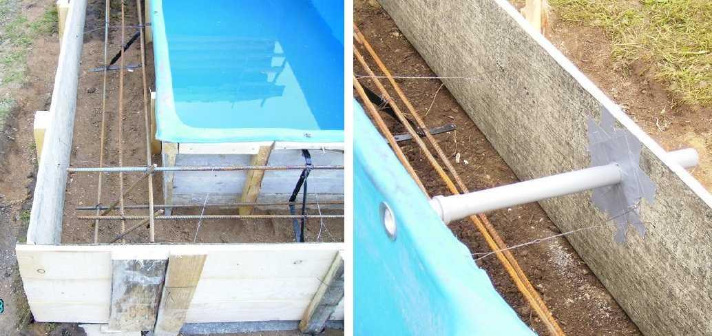 Установка пластиковых бассейнов своими руками