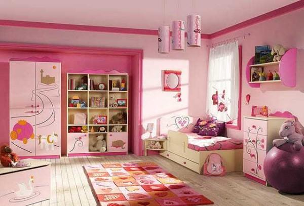 Цвета в детской для стен и мебели - яркие, чистые, но не кислотные