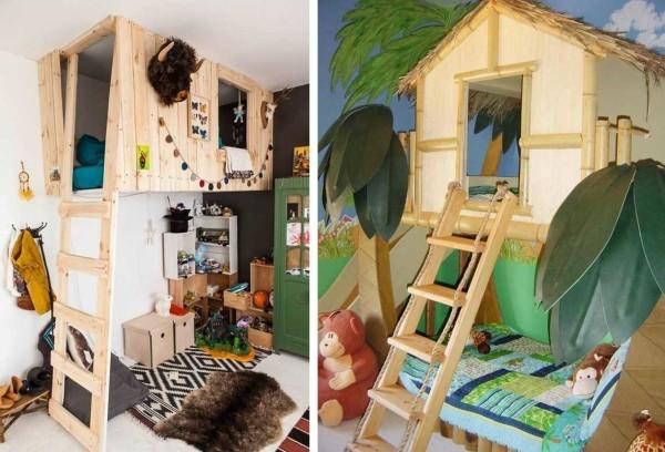 Интересные идеи для оформления комнаты мальчиков