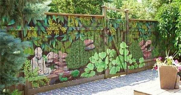 Нескучный забор