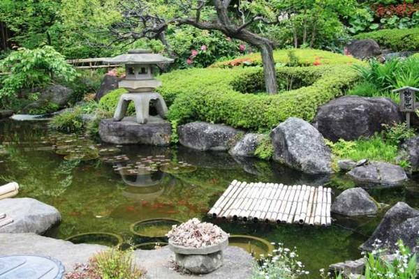 как оформить садовый участок своими руками в японском стиле