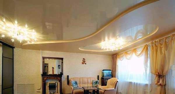 Натяжные и подвесные потолки для квартир