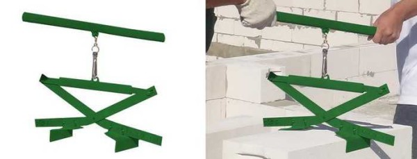 Устройство для переноса блоков