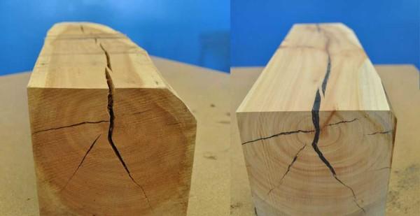 Трещины могут быть глубокими