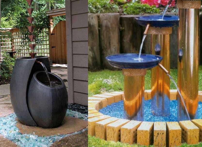 Самодельные фонтаны своими руками для дома