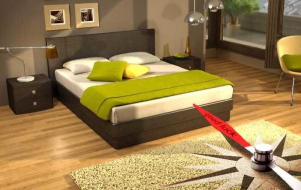 При выборе местоположения кровати учитывайте ее положение относительно сторон света