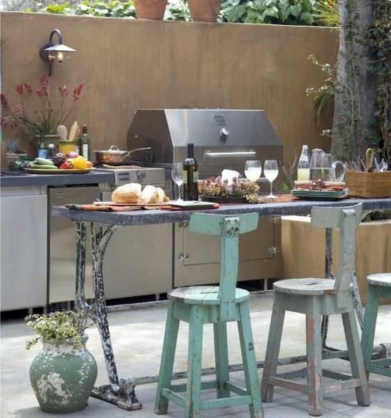 интерьер кухни на даче своими руками фото