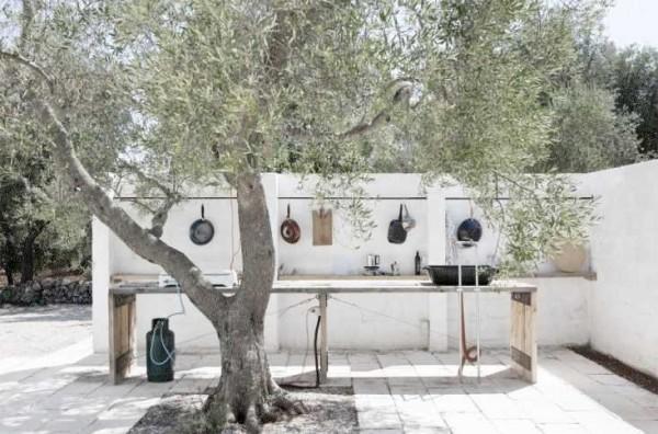 обустройство летней кухни на даче фото