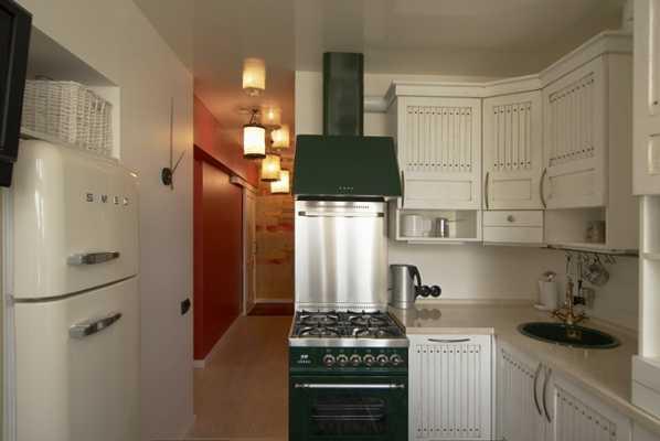 Планировка кухонного пространства в стандартной квартире