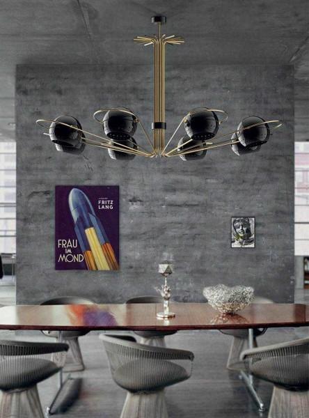 Элементы хай-тек и минимализм неплохо вписываются в стиль лофт