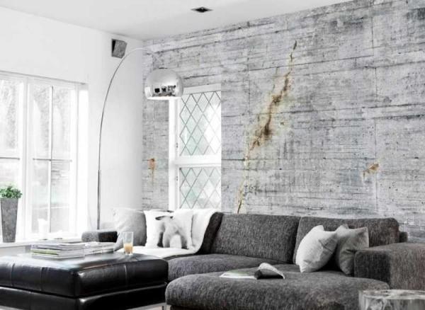 """""""Страшные"""" стены и потолок - один из признаков стиля"""