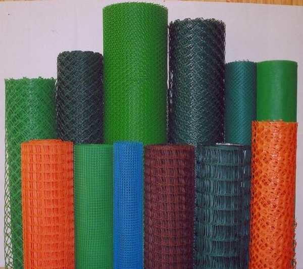 Пластиковая или полимерная сетка - на 100% состоит из полимера