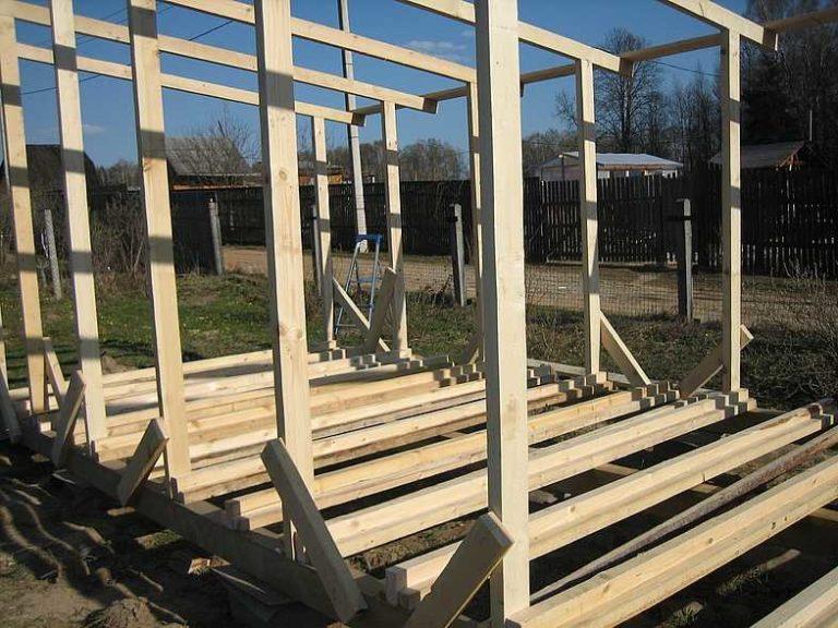 Строительство деревянной бытовки своими руками 68