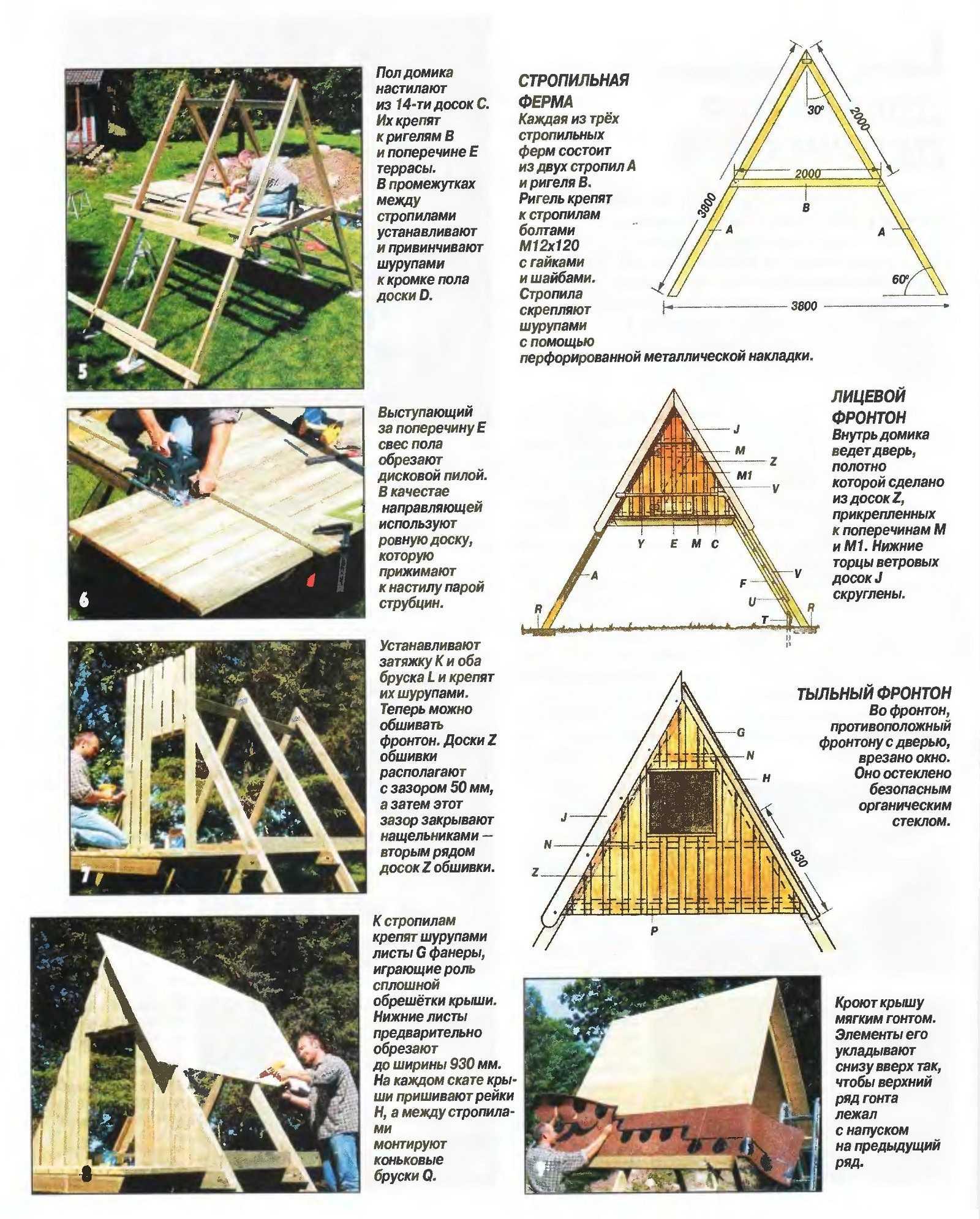 Как построить угловой камин